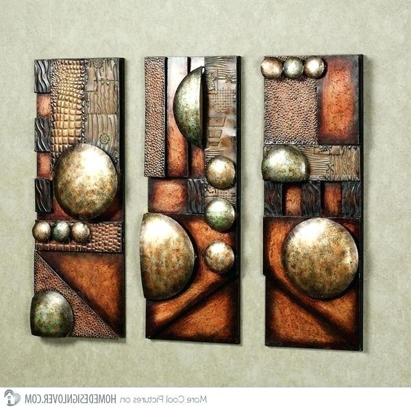 Wall Hanging Sculptures Modern And Contemporary Abstract Metal Wall With Preferred Abstract Art Wall Hangings (View 11 of 15)
