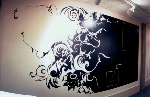Wall Tattoo, Tattoo Wall Art – Swinki Morskie Intended For Favorite Tattoos Wall Art (View 13 of 15)