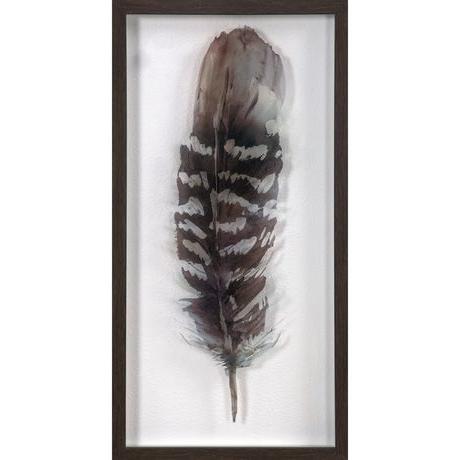 Walmart Framed Art Throughout Recent Hometrends Framed Underglass Feather Art (View 6 of 15)