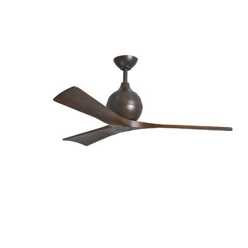"""Wayfair Outdoor Ceiling Fans Inside Newest Found It At Wayfair – 52"""" Irene 3 Blade Ceiling Fan With Wall Remote (View 10 of 15)"""