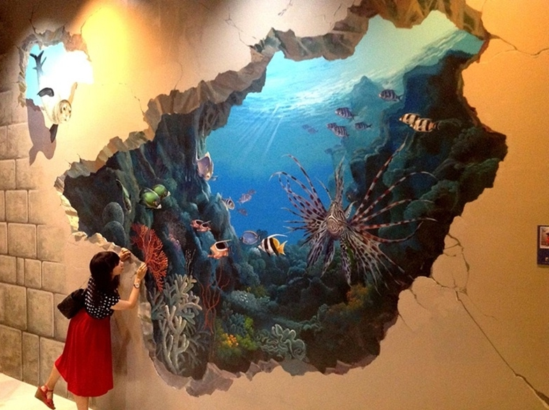 Well Known 13 Amazing 3D Wall Paintings You Won't Believe Are Not Real Within 3D Artwork On Wall (View 15 of 15)