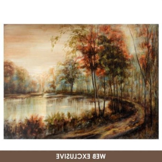 Well Known 16 Canvas Wall Art Kirkland's, Charring Tile Canvas Plaque Canvases Pertaining To Kirkland Abstract Wall Art (View 14 of 15)