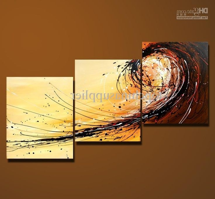 Well Known 3 Piece Abstract Wall Art Intended For 38 Best Wall Art Images On Pinterest (View 13 of 15)