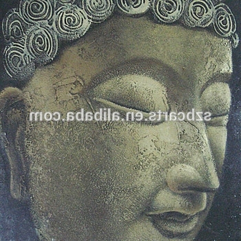 Well Known 3D Buddha Wall Art Pertaining To Alibaba Wholesale Home Decor 3D Buddha Wall Art On Canvas – Buy 3D (View 11 of 15)