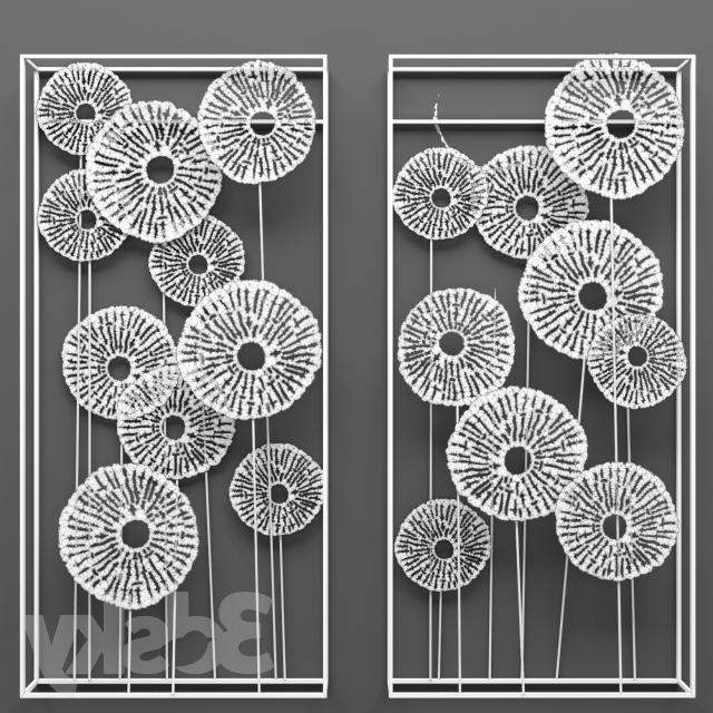 Well Known 3D Models: Sculpture – Southern Enterprises Aura Abstract Wall Sculpture For Southern Enterprises Abstract Wall Art (View 13 of 15)