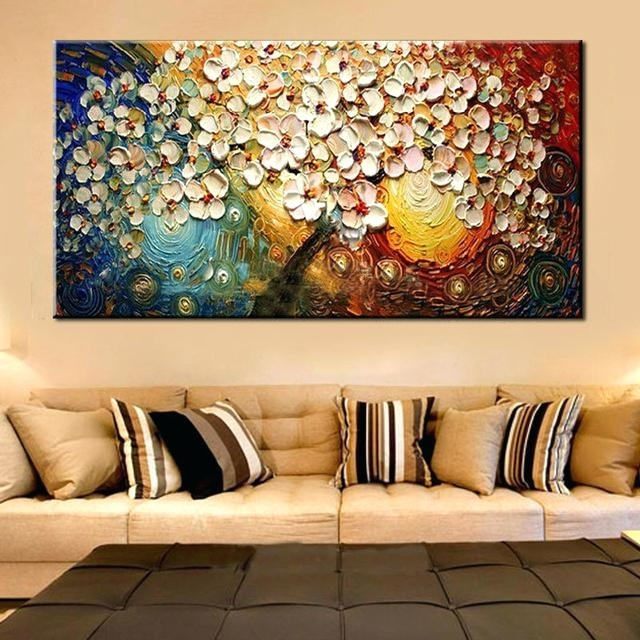 Well Known Abstract Canvas Wall Art Australia Pertaining To Abstract Paintings On Canvas Unframed Canvas Wall Art Abstract (View 6 of 15)