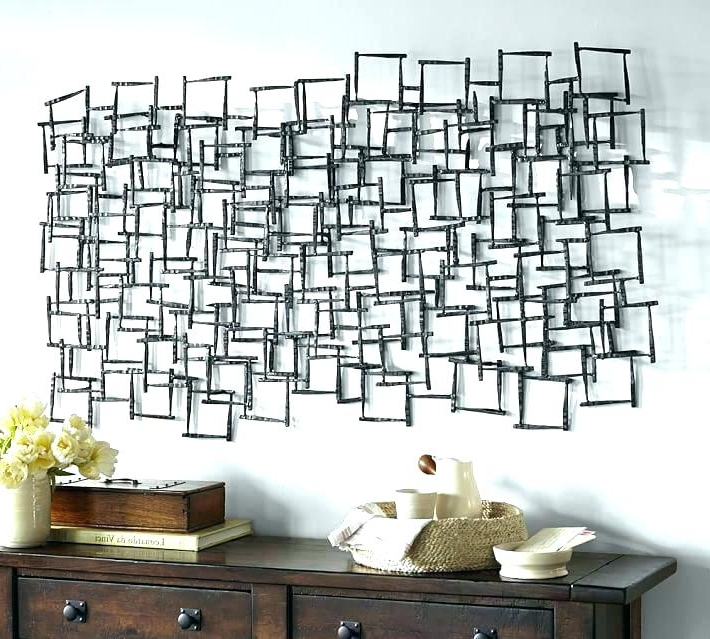 Well Known Abstract Geometric Metal Wall Art Pertaining To Geometric Metal Wall Art Decor Choice Image Home Decoration Ideas (View 13 of 15)