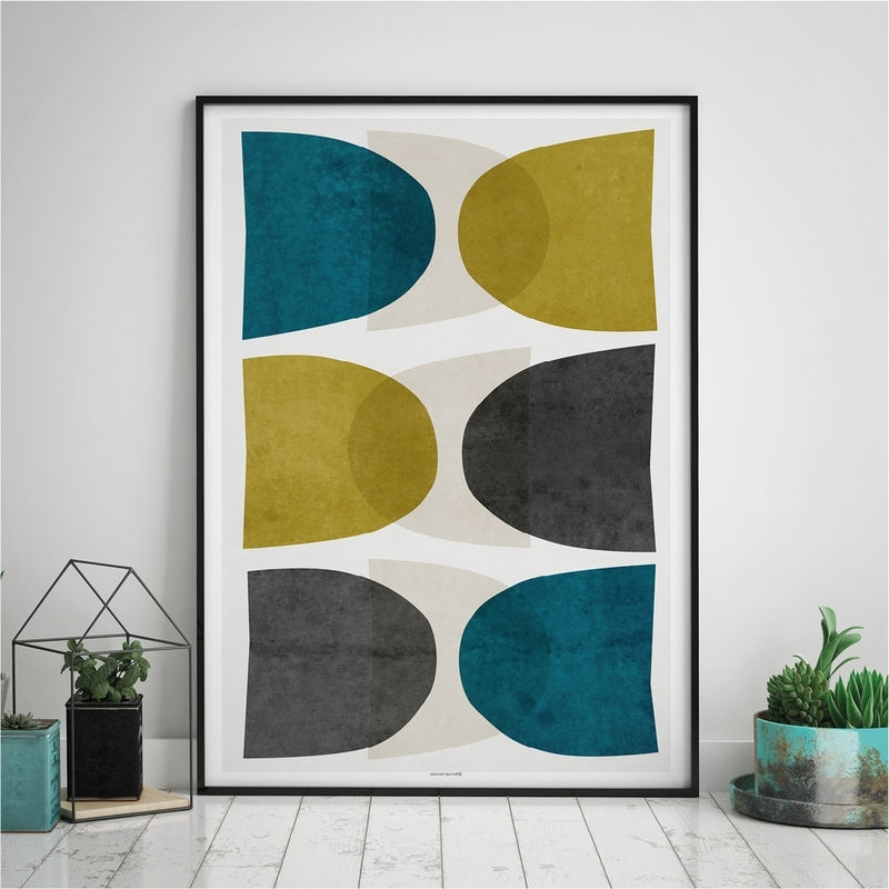 Well Known Abstract Living Room Wall Art Throughout Abstract Art Print – Large Abstract Wall Art – Modern Art Prints (View 15 of 15)