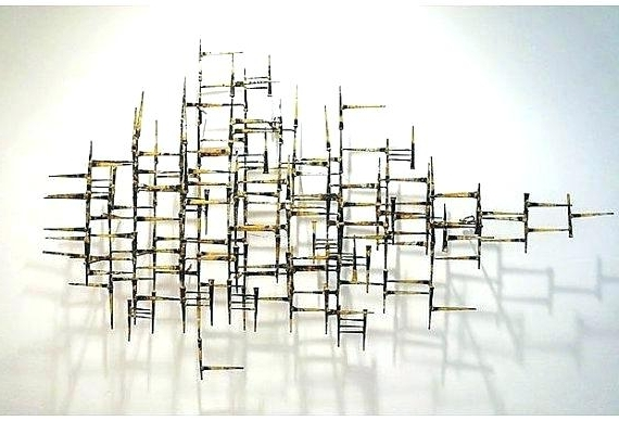 Well Known Abstract Metal Wall Art Sculptures With Regard To Modern Wall Sculptures Modern Wall Sculptures Wall Sculptures (View 11 of 15)
