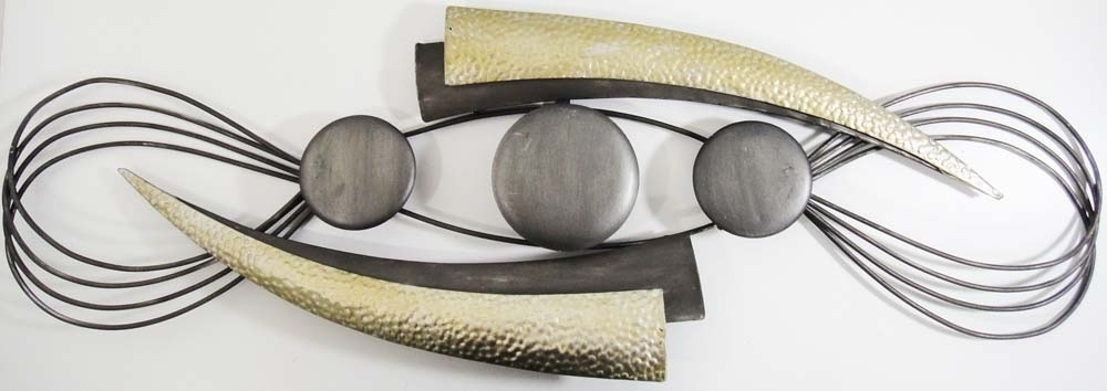Well Known Abstract Outdoor Metal Wall Art Nuestro Art Abstract Metal Wall With Abstract Iron Wall Art (View 9 of 15)