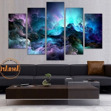 Well Known Abstract Wall Art Canvas In Shop Colorful Abstract Wall Art On Wanelo (View 11 of 15)