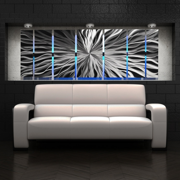 Well Known Awesome And Beautiful Modern Metal Wall Art Elegant Design Designs Regarding Uk Contemporary Wall Art (View 15 of 15)