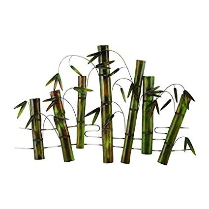 Well Known Bamboo Metal Wall Art With Amazon: Bamboo Field Trees Of Life Metal Wall Art Sculpture Home (View 15 of 15)