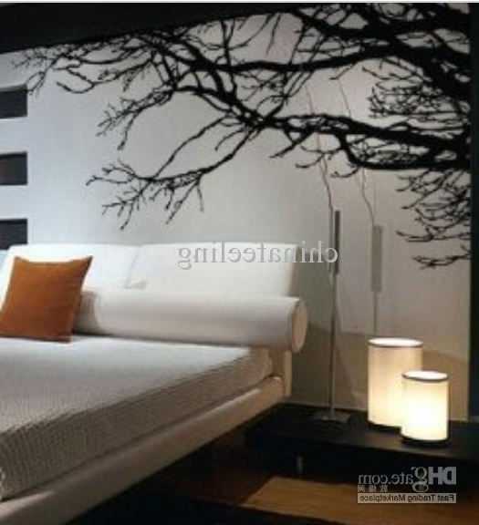 Well Known Black Tree Branches Wall Sticker Diy Art Vinyl Wall Stickers/decal With Regard To Tree Branch Wall Art (View 12 of 15)