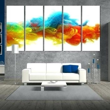 Well Known Bright Abstract Wall Art With Regard To Bright Canvas Wall Art – Chastaintavern (View 15 of 15)