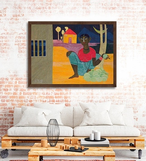Well Known Buy Canvas 28 X 19 Inch Untitled Framed Limited Edition Digital Art With Regard To Limited Edition Wall Art (View 15 of 15)