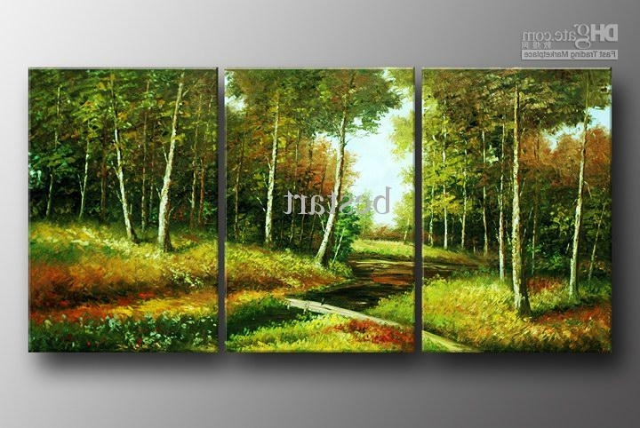 Well Known Canvas Landscape Wall Art In Extraordinary Idea Landscape Wall Art – Ishlepark (View 12 of 15)