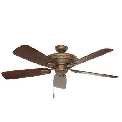 Well Known Casablanca Outdoor Ceiling Fans With Lights With Rustic – Casablanca – Outdoor – Ceiling Fans – Lighting – The Home Depot (View 15 of 15)