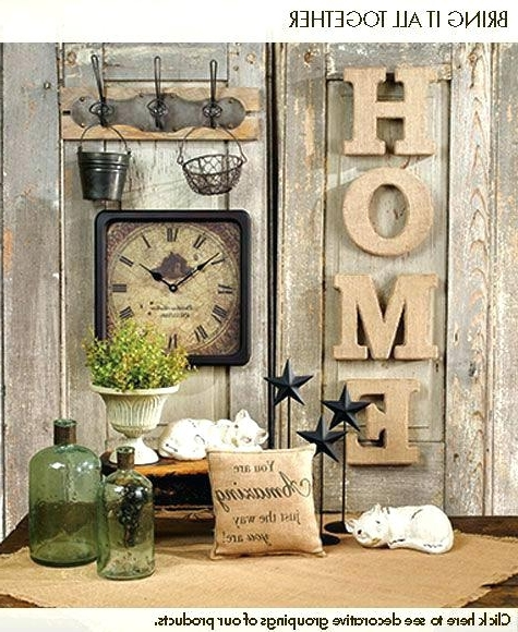 Well Known Country Wall Art Clever Design French Country Wall Decor Or Kitchen In French Country Wall Art (View 7 of 15)