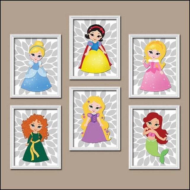 Well Known Disney Princess Framed Wall Art For Disney Princess Framed Wall Art (View 13 of 15)