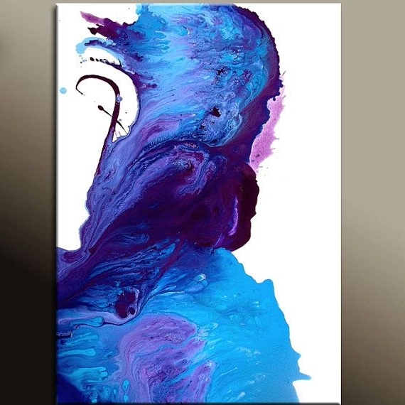 Well Known Dwell Abstract Wall Art With Where Angels Dwell – New Abstract Art Painting 36X24 Original (View 3 of 15)