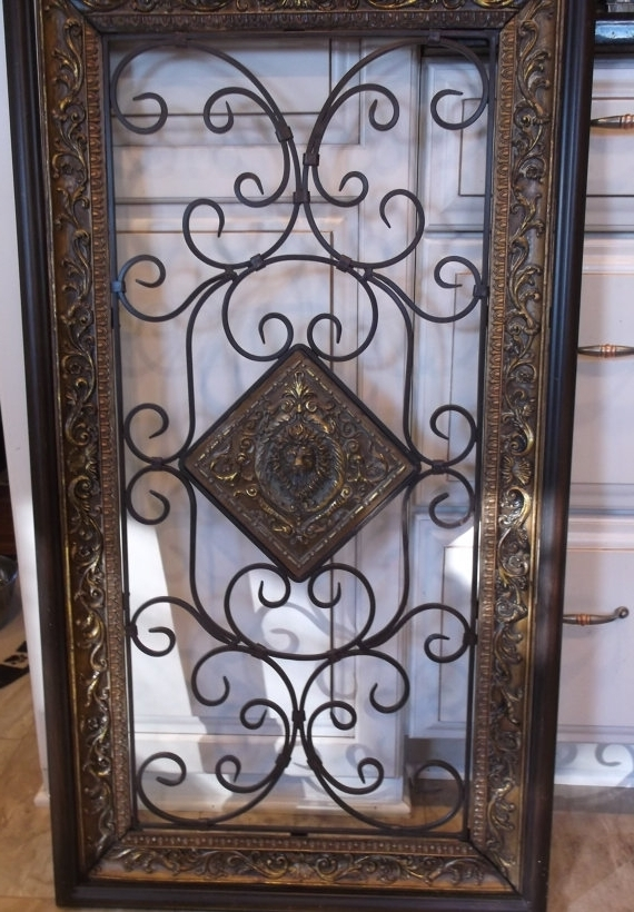 Well Known Faux Wrought Iron Wall Art For Under 5 Youtube Hqdefault 480X360 In Faux Wrought Iron Wall Art (View 8 of 15)