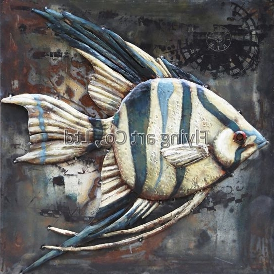 Well Known Fish 3D Wall Art For China 3D Metal Wall Art For Fish – China Metal Painting, Metal Artwork (View 14 of 15)