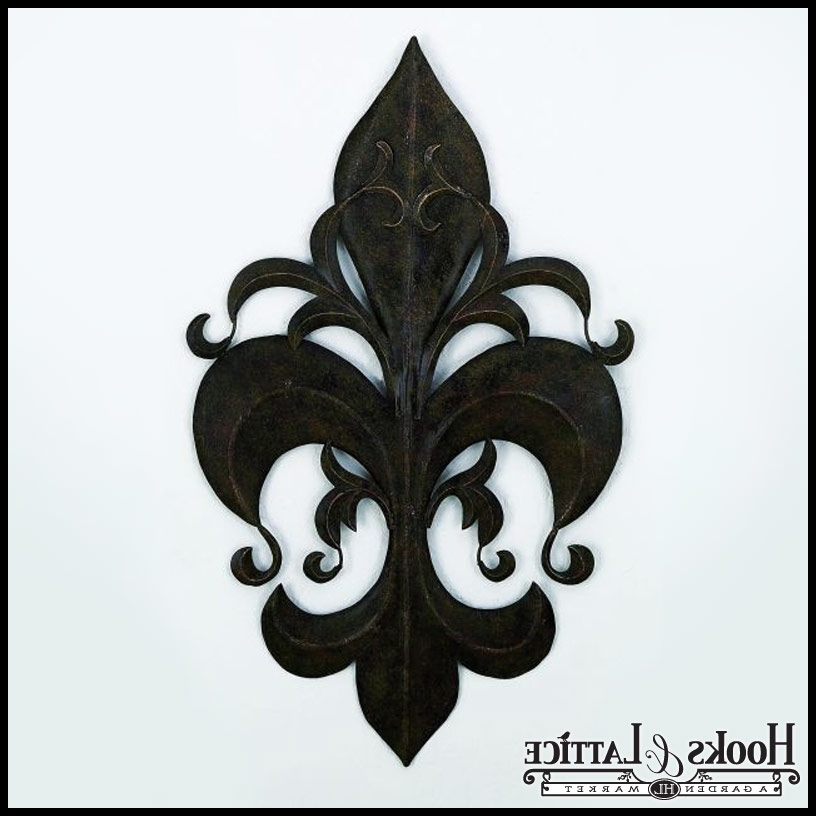 Well Known Fleur De Lis Metal Wall Art For Fleur De Lis Wall Art, Rustic Art (View 15 of 15)