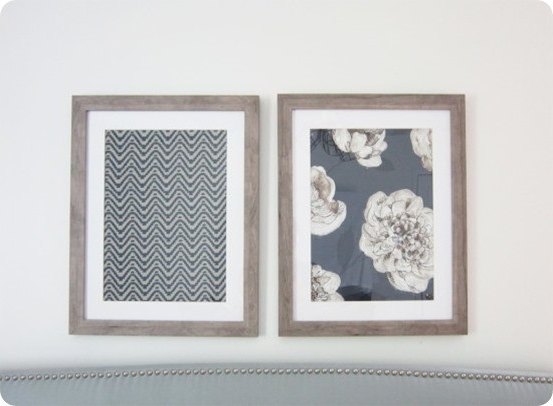 Well Known Framed Fabric Wall Art In Framed Fabric Wall Art (View 5 of 15)