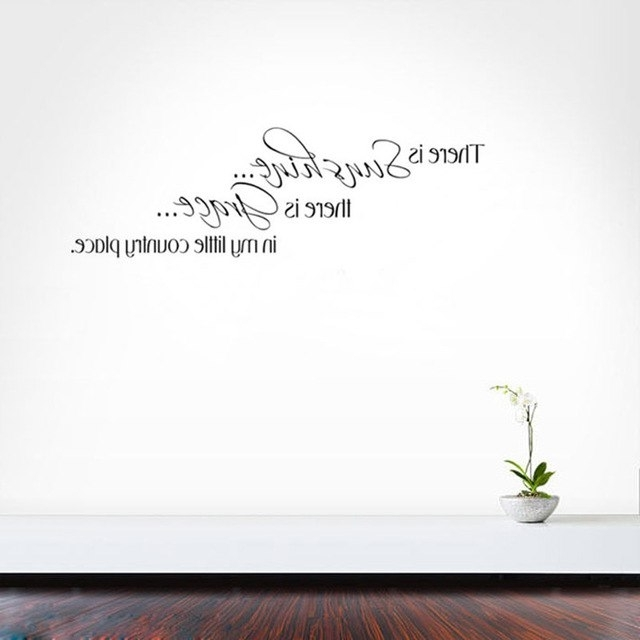 Well Known Grace Wall Art Throughout Cacar There Is Sunshine There Is Grace Wall Art Decals Vinyl (View 5 of 15)