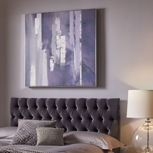 Well Known Graham & Brown Purple Harmony Canvas Wall Art – Free Shipping Today Pertaining To Graham & Brown Wall Art (View 10 of 15)