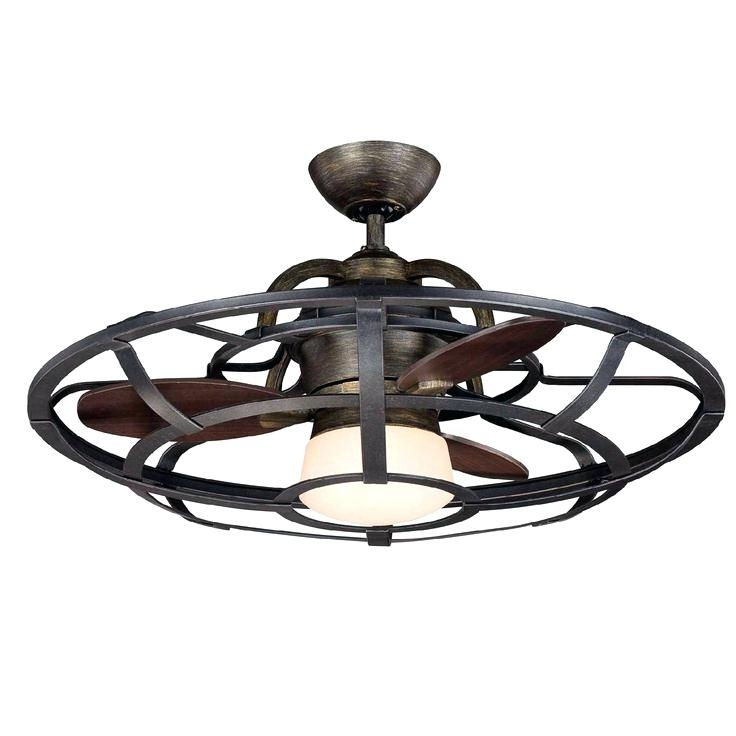 Well Known Great Antique Style Ceiling Fan With Cage Best Design Idea With Outdoor Ceiling Fans With Cage (View 5 of 15)