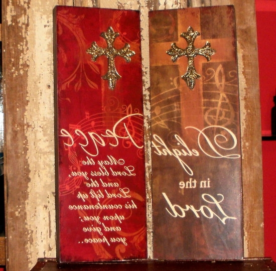 Well Known Inspirational Wall Plaques Within Inspirational Home Decor Wall Plaques Religious Sayings (View 14 of 15)