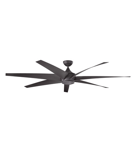 Well Known Kichler 310115Dbk Lehr 80 Inch Distressed Black Outdoor Ceiling Fan With Outdoor Ceiling Fans At Kichler (View 3 of 15)