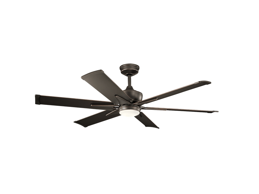 Well Known Kichler 60 Inch Szeplo Ii Led Outdoor Ceiling Fan – Olde Bronze Throughout 60 Inch Outdoor Ceiling Fans With Lights (View 14 of 15)
