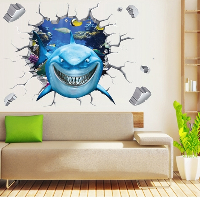 Well Known Kids Room: Cool Kids Room Mural Free Detail Jungle Murals For For 3D Wall Art For Baby Nursery (View 15 of 15)