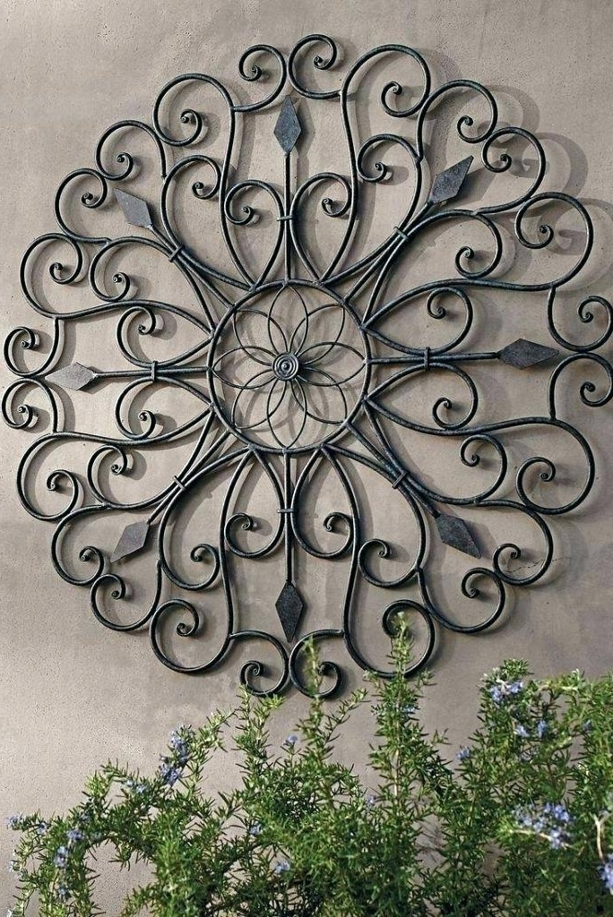 Well Known Large Garden Wall Art In Large Garden Wall Art Outdoor Wall Decor Metal Large Size Of Garden (View 14 of 15)