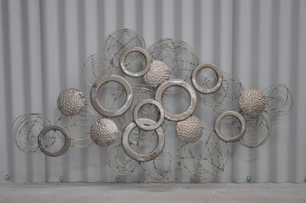 Well Known Large Metal Wall Art Decor And Sculptures : Metal Wall Art Decor And Regarding Big Metal Wall Art (View 14 of 15)