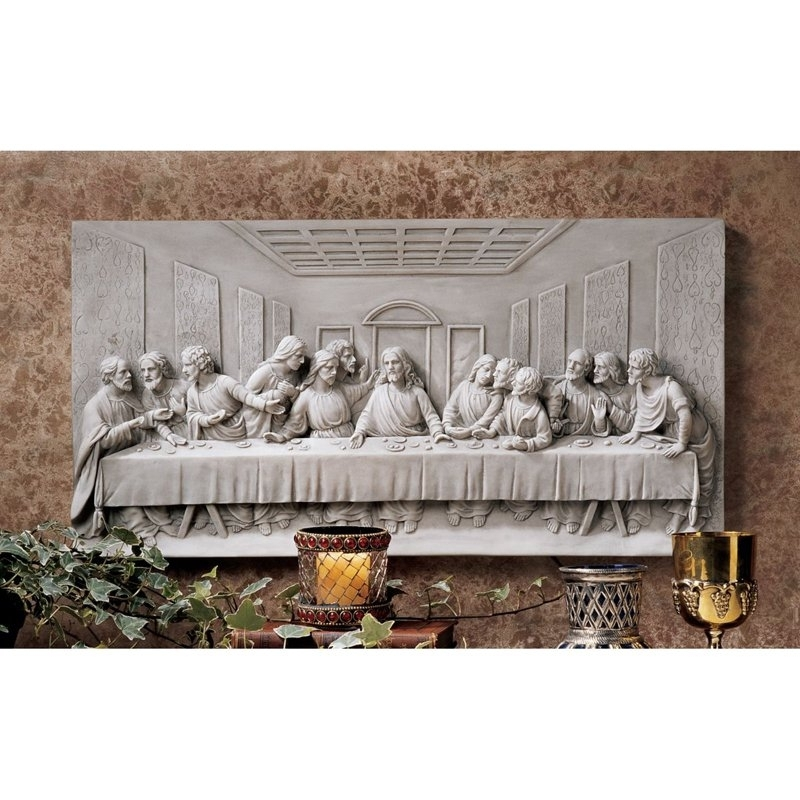 Well Known Last Supper Wall Art In Last Supper Wall Art Gray : Andrews Living Arts – Beautiful Last (View 14 of 15)