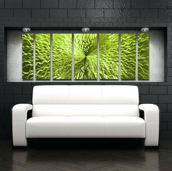 Well Known Lime Green Metal Wall Art Pertaining To Lime Green Wall Art Lime Green Wall Art Artwork Decor Lime Green (View 12 of 15)
