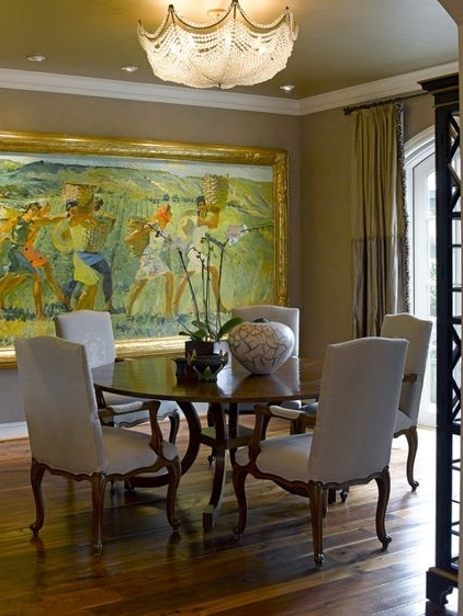Well Known Luxury Graceful Decorations For Traditional Dining Room Walls Pertaining To Dining Area Wall Art (View 12 of 15)