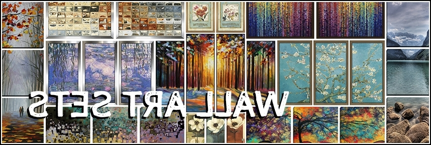 Well Known Matching Wall Art Intended For Wall Art Sets – Framed Canvas Art (View 11 of 15)