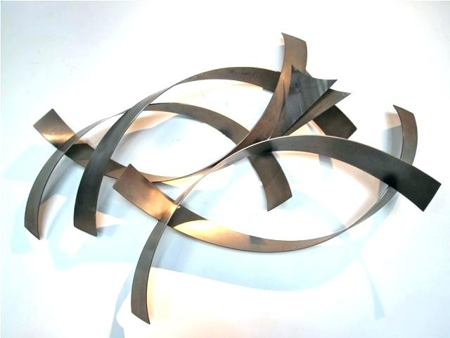 Well Known Metal Contemporary Wall Art Modern Wall Sculptures Metro Modern Intended For Abstract Metal Wall Art Sculptures (View 15 of 15)