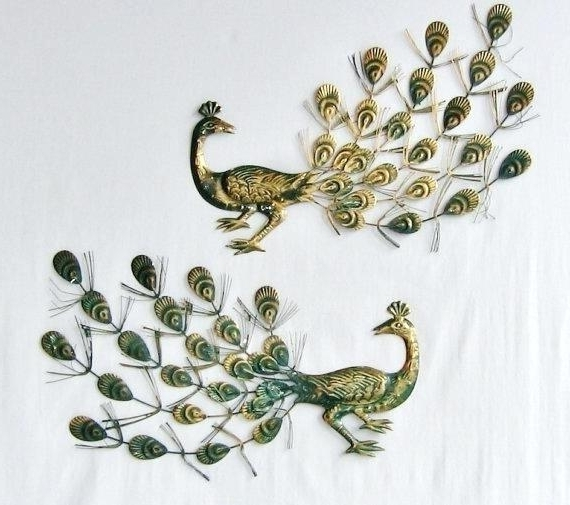 Well Known Metal Peacock Wall Art In Metal Peacock Wall Art Featured Image Of Metal Peacock Wall Art (View 4 of 15)
