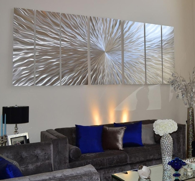 Well Known Modern Oversized Wall Art With Regard To The Most Incredible In Addition To Attractive Large Contemporary (View 15 of 15)