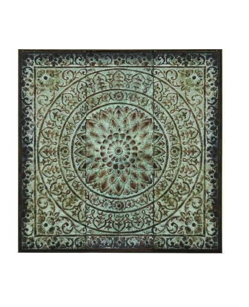 Well Known Moroccan Metal Wall Art Intended For Antique Look Vintage Style Moroccan Design Metal Wall Art, Moroccan (View 14 of 15)