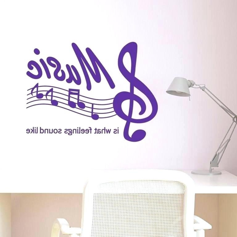 Well Known Music Theme Wall Art Intended For Musical Themed Wall Art Cool Music Theme Room Decor For Teenagers (View 10 of 15)