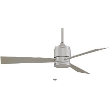 Well Known Nickel Outdoor Ceiling Fans For Buy Fanimation Zonix 52 Inch Outdoor Ceiling Fan – Satin Nickel In (View 8 of 15)