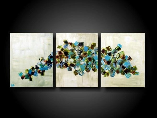 Well Known Original Painting Original Art Large Abstract Painting Modern Throughout Original Abstract Wall Art (View 14 of 15)