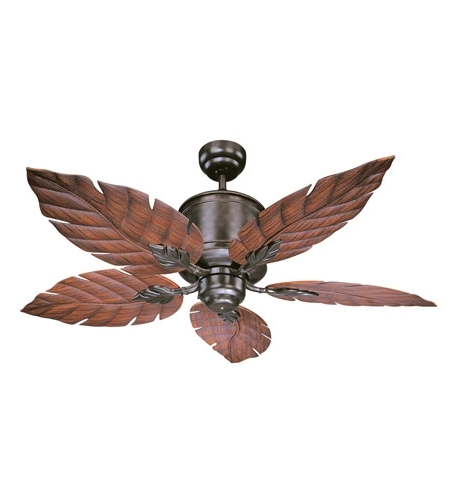 Well Known Outdoor Ceiling Fans Throughout Savoy House 52 083 5Ro 13 Portico 52 Inch English Bronze With (View 15 of 15)